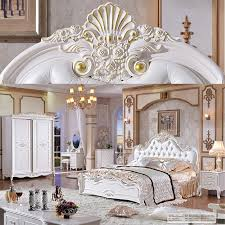 Cheap French Style Bedroom Furniture by White Fancy French Style 8 Pieces Home Bedroom Furniture Set Buy