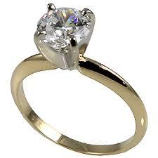 4 carat cubic zirconia engagement rings 14k gold cz cubic zirconia 4 prong solitaire engagement ring