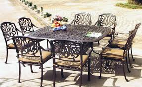 Aluminum Patio Tables Sale Cast Aluminum Patio Set Hbwonong Com