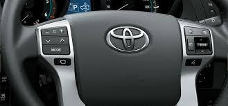 toyota steering wheel toyota india official toyota land cruiser prado site