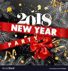 happy new years posters happy new year invitation template or poster vector image