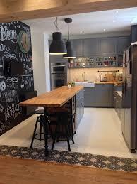Narrow Kitchen Design With Island Narrow Kitchen Island
