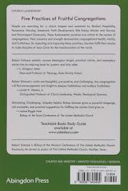 five practices of fruitful congregations robert schnase