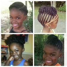 easy braided hairstyles for little black girls cute braided