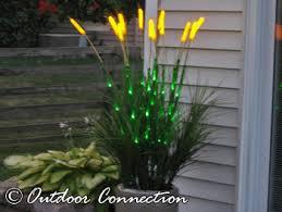 led lighted wheat grass artificial wheat grass led lit grass