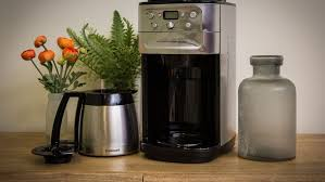 Kitchenaid Burr Coffee Grinder Review Cuisinart Dgb 900 Burr Grind U0026 Brew Thermal 12 Cup Automatic