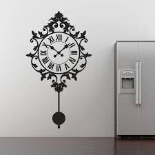 decorative clock 17 best clock wall stickers images on pinterest clock wall wall