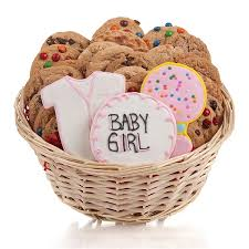 cookie basket a girl cookie gift basket