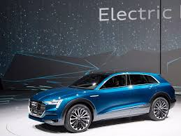 audi audi u0027s electric suv taking on tesla business insider