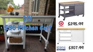 diy 30 outdoor kitchen cart youtube