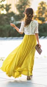 Long Flowy Maxi Skirt Get 20 Yellow Maxi Skirts Ideas On Pinterest Without Signing Up