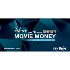 fly buys event cinemas vouchers