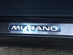 nissan murano rear bumper protector illuminated will plates and bumper protector nissan murano forum