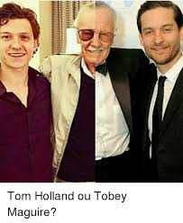 Meme Tobey Maguire - f2111111111 tom holland ou tobey maguire meme on sizzle