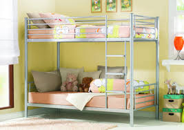 elegant bedroom ideas for small room featuring bunk beds with easy