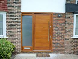 Modern Exterior Doors by Contemporary Front Doors For Homes New Yorker Stainless Steel