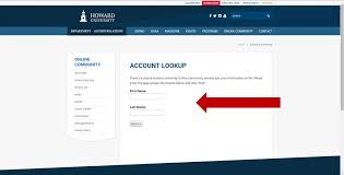 alumni website software howard online community online community