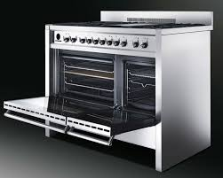 Smeg Induction Cooktops Smeg A3xu6 48 Inch Freestanding Dual Fuel Range With Dual Electric