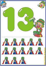 free printable number flashcards 1 20 printable number flash cards 1 to 20 for kids 1 funnycrafts number