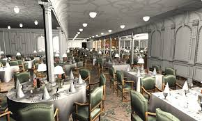 titanic first class dining room titanic 1st dining saloon iii by hudizzle on deviantart