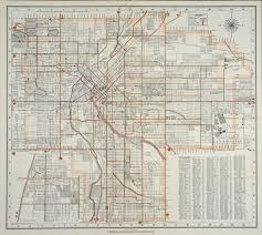 Map Denver Colorado by 1943 Map Of Denver