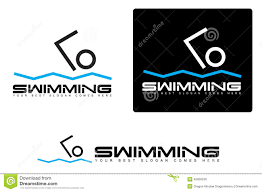 Swimming Logo Design by Abstract Simple Swimming Logo Stock Illustration Image 45950530