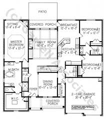 100 house plans attached guest house parktowne luxury plan