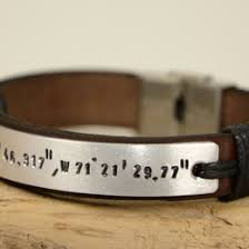 Mens Personalized Jewelry Cuff Bracelets Collection Gift Ideas