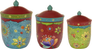 Colorful Kitchen Canisters Sets Alcott Hill Ohlman 3 Piece Kitchen Canister Set U0026 Reviews Wayfair