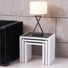good black nest of tables modern 95 in interior design ideas with