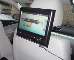 9 inch android tablet android tablet pc for car headrest with multimedia player