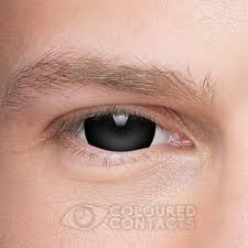 halloween prescription contact lenses mini sclera halloween 1 day black coloured contact lenses