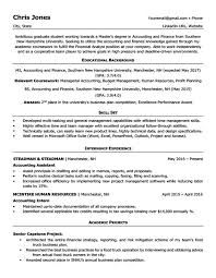 resume template for accounting graduates skill set resume gallery of resume template for student