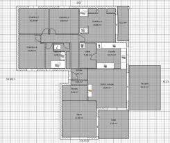 plan villa plain pied 4 chambres plan maison plain pied 4 chambres garage conceptions de la