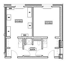 Physical Therapy Clinic Floor Plans Residence Options University Of Indianapolis