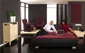 Bedroom Ideas Black Furniture Black And White Themed House The Decorated House The Decorated