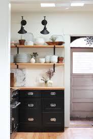 kitchen open shelves in kitchen best shelving ideas on pinterest