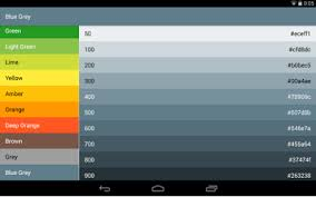 android color material design colors android apps on play
