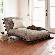 lounger futon west elm futon lounger