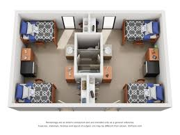 Air Force One Layout Floor Plan Morrill Hall University Housing
