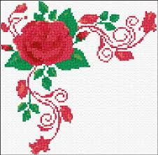 roses corner s cross stitch patterns