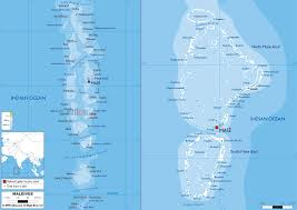 Map Of Europe Physical Features by Physical Map Of Maldives Ezilon Maps