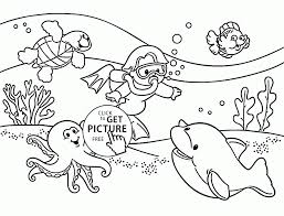 undersea realistic ocean animals coloring pages sea of sharks