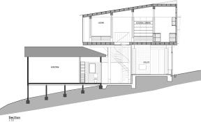 glasshouse on stilts by austin maynard architects extends