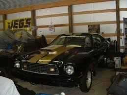 ford mustang race cars for sale 77 cobra ii drag car rolling chassis may trade buckeye stangs