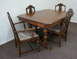 butterfly dining room table 1930s dining room furniture vintage butterfly leaf mahogany dining