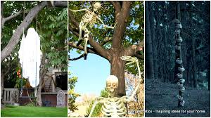 decorate your home for halloween 26 enchanting and spooky ways to decorate trees for halloween