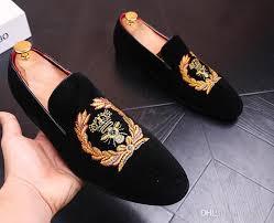 wedding shoes europe autumn men velvet loafers party wedding shoes europe style