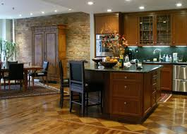 kitchen flooring ideas angie s list plank and checkered kitchen flooring