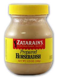 what is prepared horseradish zatarain s horseradish new orleans cajun condiments